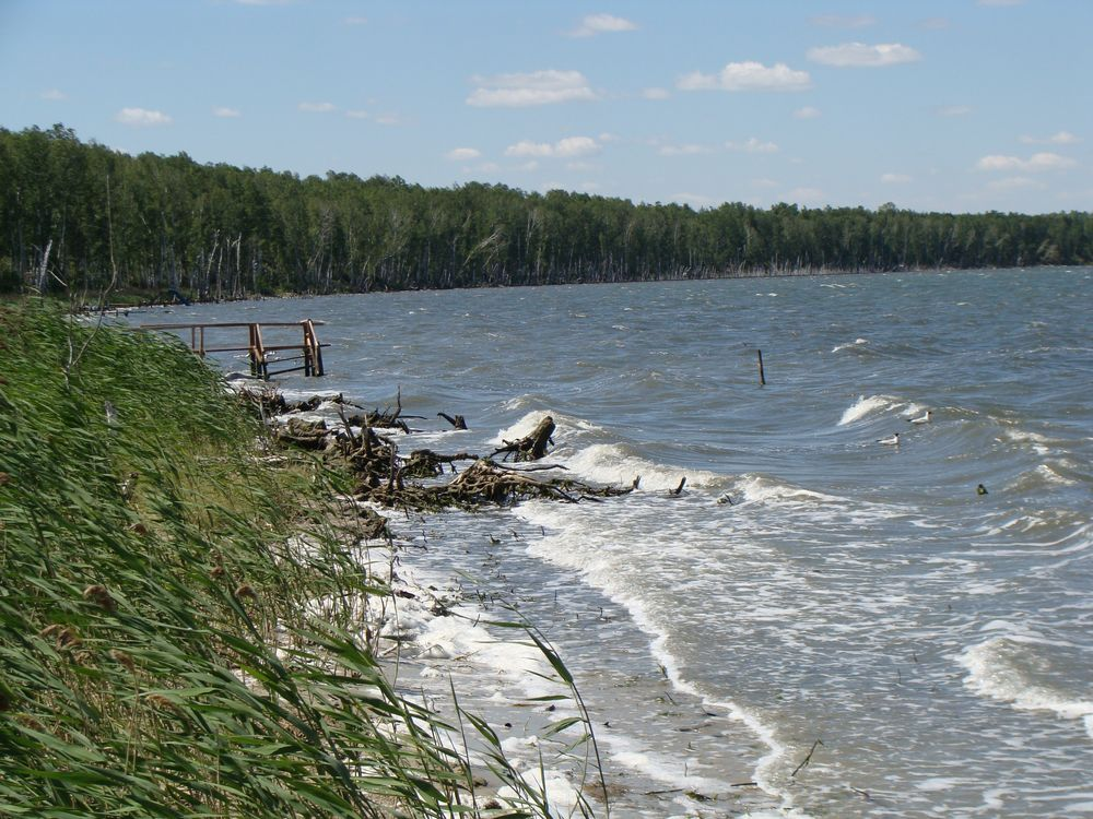рыбалка на озере большое тетерье